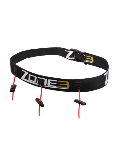 Ultimate Race Number Belt with Energy Gel Storage