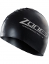 Zone3 Black swim cap-2