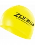 Zone3 Hi Vis Neon Yellow Silicone Swim Cap (1)-2